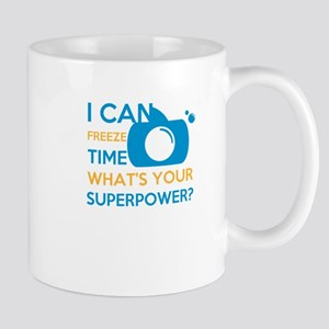 i can free time, what's your superpower? Mugs