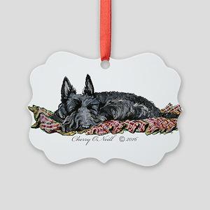 Scottish Terrier Slumber Ornament