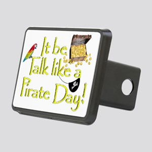 It Be Talk Like A Pirate D Rectangular Hitch Cover