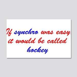 If synchro was easy Wall Decal