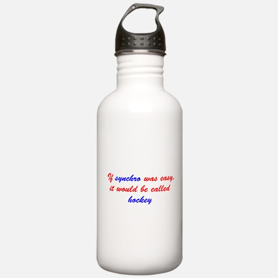 If synchro was easy Water Bottle