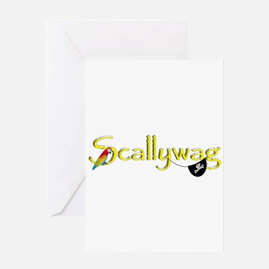 Talk Like A Pirate - Scallywag Greeting Cards
