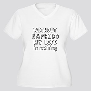 Without Hapkido M Women's Plus Size V-Neck T-Shirt