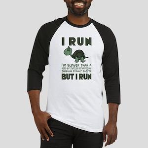 Turtle Running T Shirt Baseball Jersey