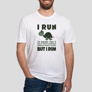 Turtle Running T Shirt T-Shirt
