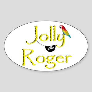 Talk Like A Pirate - Jolly Roger Sticker