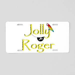Talk Like A Pirate - Jolly Aluminum License Plate
