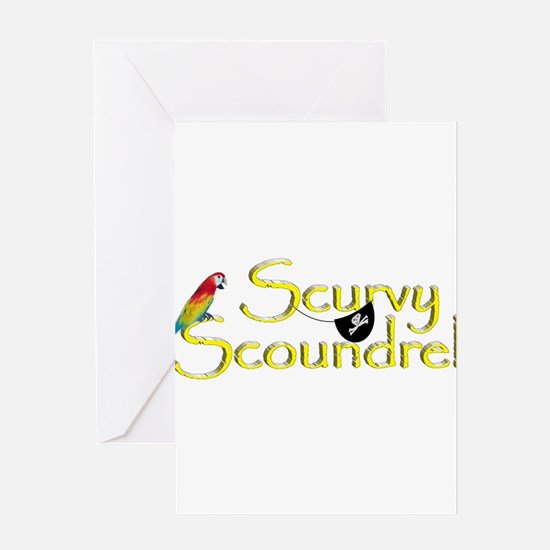 Talk Like A Pirate - Survey Scoundr Greeting Cards