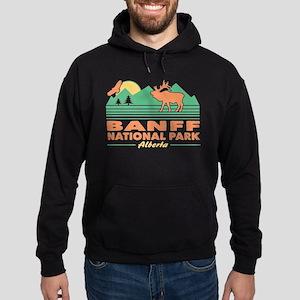 Banff National Park Alberta Hoodie (dark)