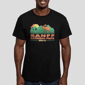 Banff National Park Al Men's Fitted T-Shirt (dark)