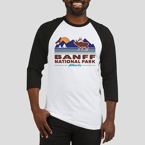 Banff National Park Alberta Baseball Jersey