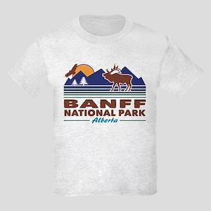 Banff National Park Alberta Kids Light T-Shirt