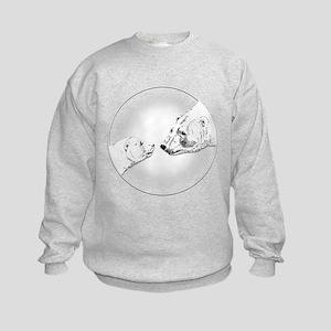 Polar Bear & Cub Sweatshirt