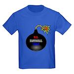 National Debt Kids Dark T-Shirt