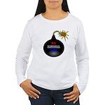 National Debt Women's Long Sleeve T-Shirt