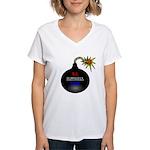 National Debt Women's V-Neck T-Shirt