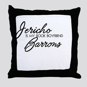 BF Jericho Barrons Throw Pillow