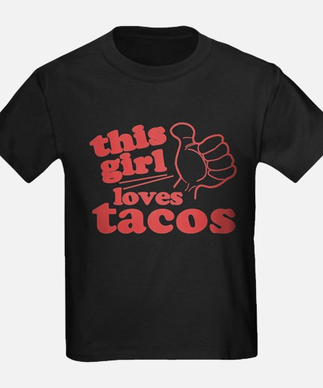 This Girl Loves Tacos T-Shirt