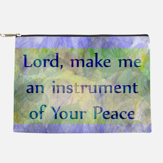 Prayer of St. Francis Makeup Pouch