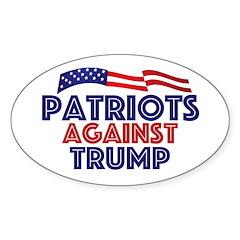 Patriots Against Trump Decal