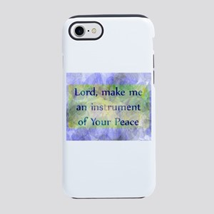 Prayer of St. Francis iPhone 7 Tough Case