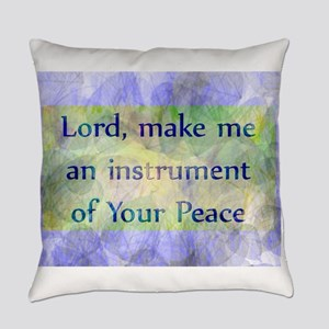 Prayer of St. Francis Everyday Pillow