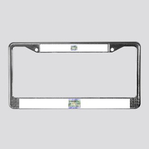 Prayer of St. Francis License Plate Frame