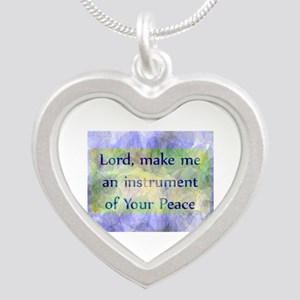 Prayer of St. Francis Necklaces