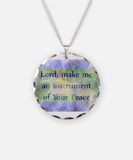 Prayer of St. Francis Necklace