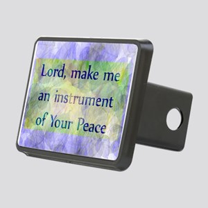 Prayer of St. Francis Rectangular Hitch Cover