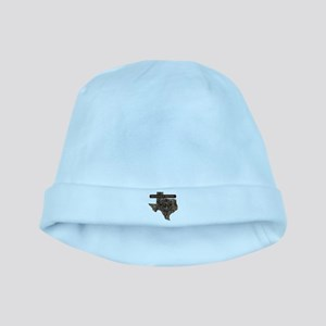 TEXAS RIG UP CAMO baby hat