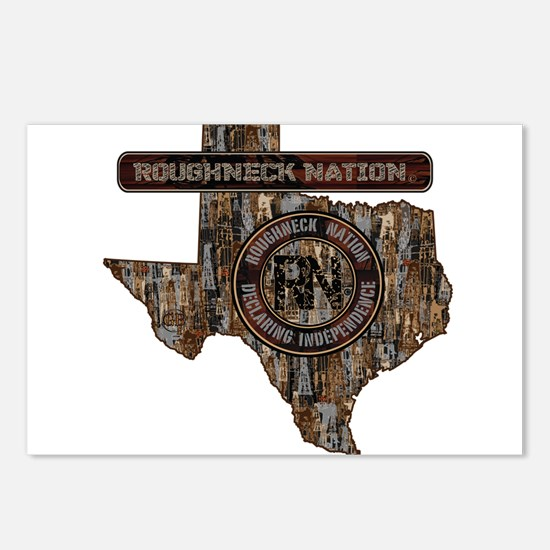 TEXAS RIG UP CAMO Postcards (Package of 8)