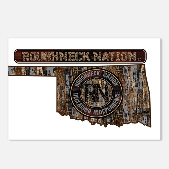 OKLAHOMA RIG UP CAMO Postcards (Package of 8)