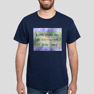 Prayer of St. Francis Dark T-Shirt