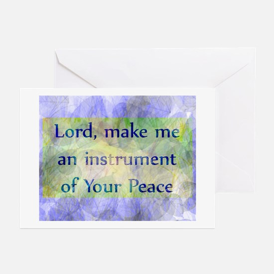 Prayer of St. Francis Greeting Cards (Pk of 10)