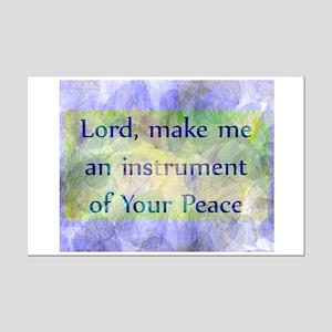 Prayer of St. Francis Mini Poster Print