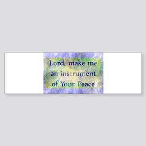 Prayer of St. Francis Sticker (Bumper)