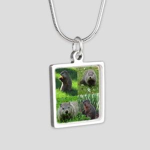 Groundhog medley Necklaces