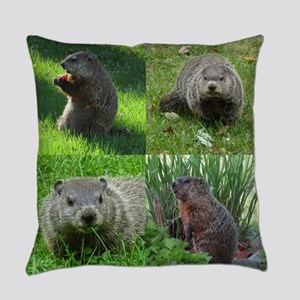 Groundhog medley Everyday Pillow