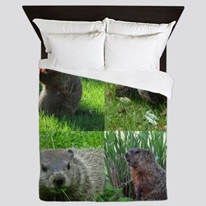 Groundhog medley Queen Duvet