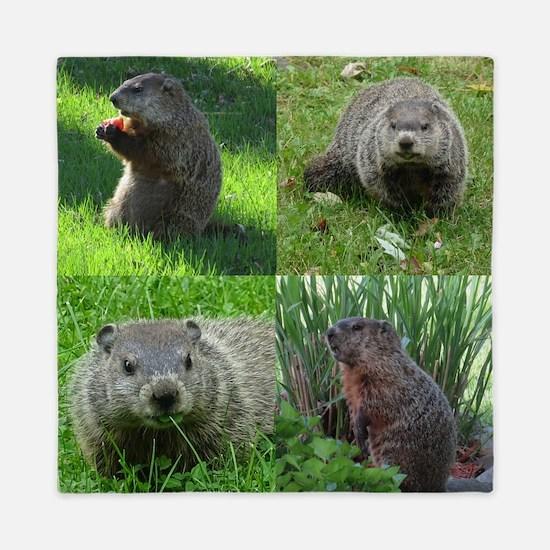 Groundhog medley Queen Duvet