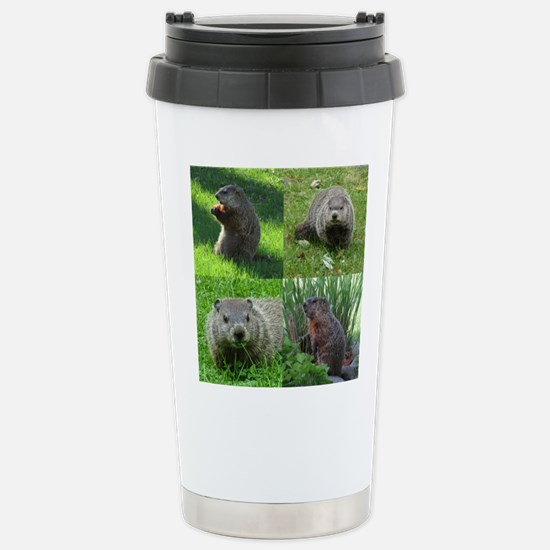 Groundhog medley Travel Mug