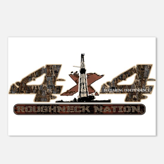 4 X 4 RIG UP CAMO Postcards (Package of 8)
