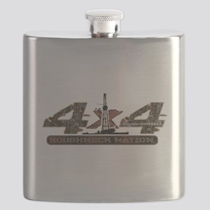 4 X 4 RIG UP CAMO Flask