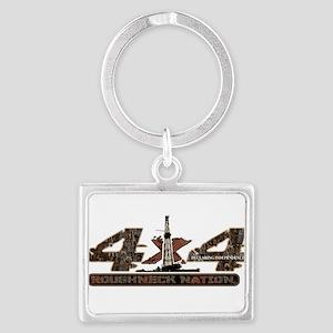 4 X 4 RIG UP CAMO Keychains