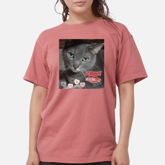 Valentine Russian Blue Gray Ca T-Shirt