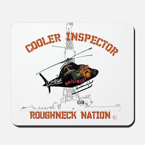 COOLER INSPECTOR Mousepad