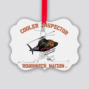 COOLER INSPECTOR Picture Ornament