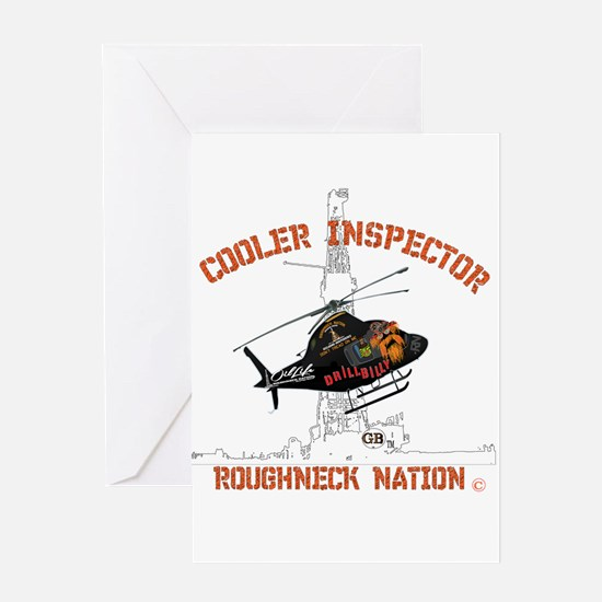 COOLER INSPECTOR Greeting Cards