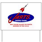 Jarts & Lawn Darts Yard Sign